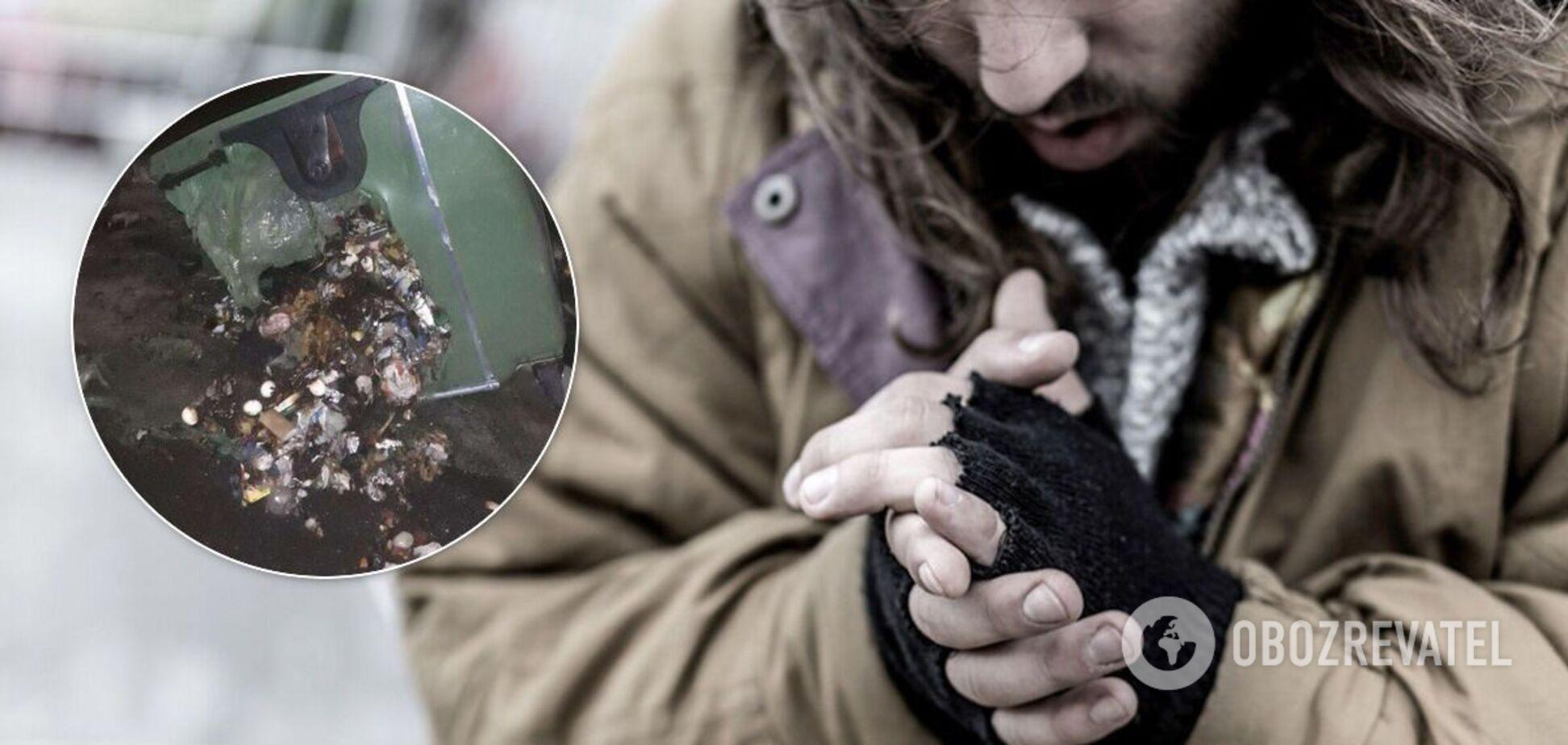 У Дніпрі бездомний підпалював сміття в баках, щоб підігріти їжу