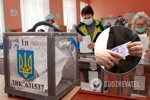 На Киевщине раскрыли массовый подкуп избирателей: платили по 600 грн