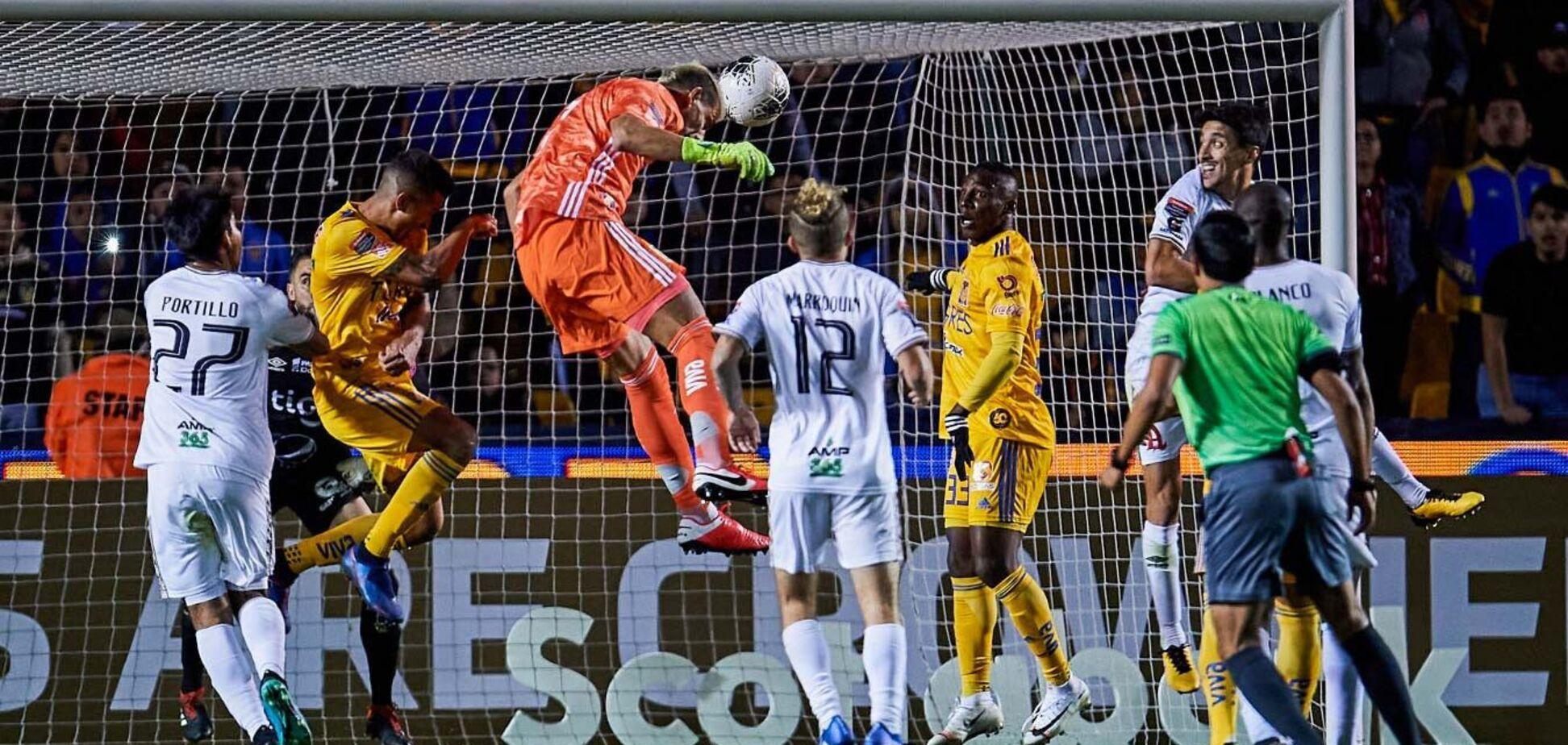 Воротар 'Тігрес' Гузман забив гол на останніх секундах