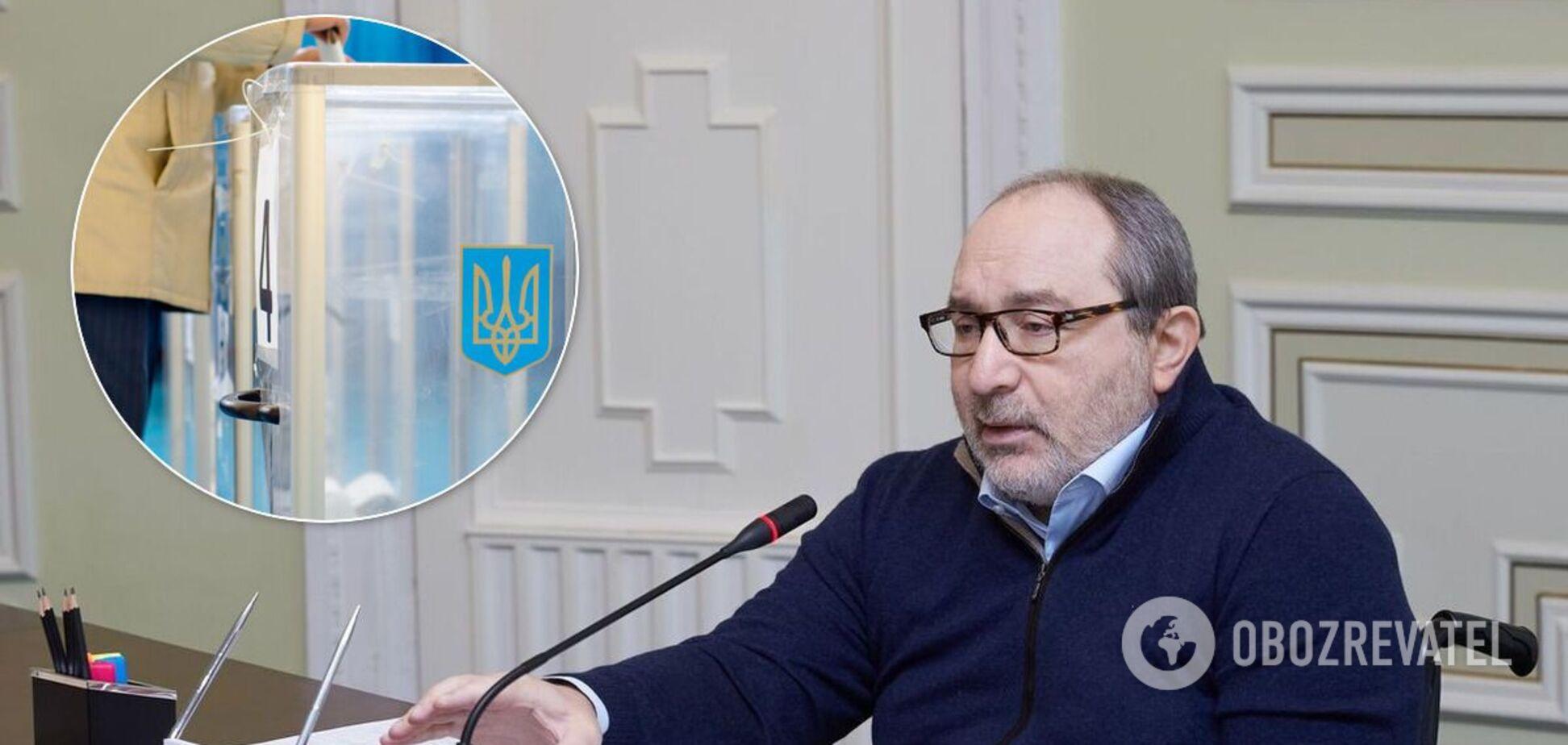 На выборах мэра в Харькове лидирует действующий городской голова Геннадий Кернес