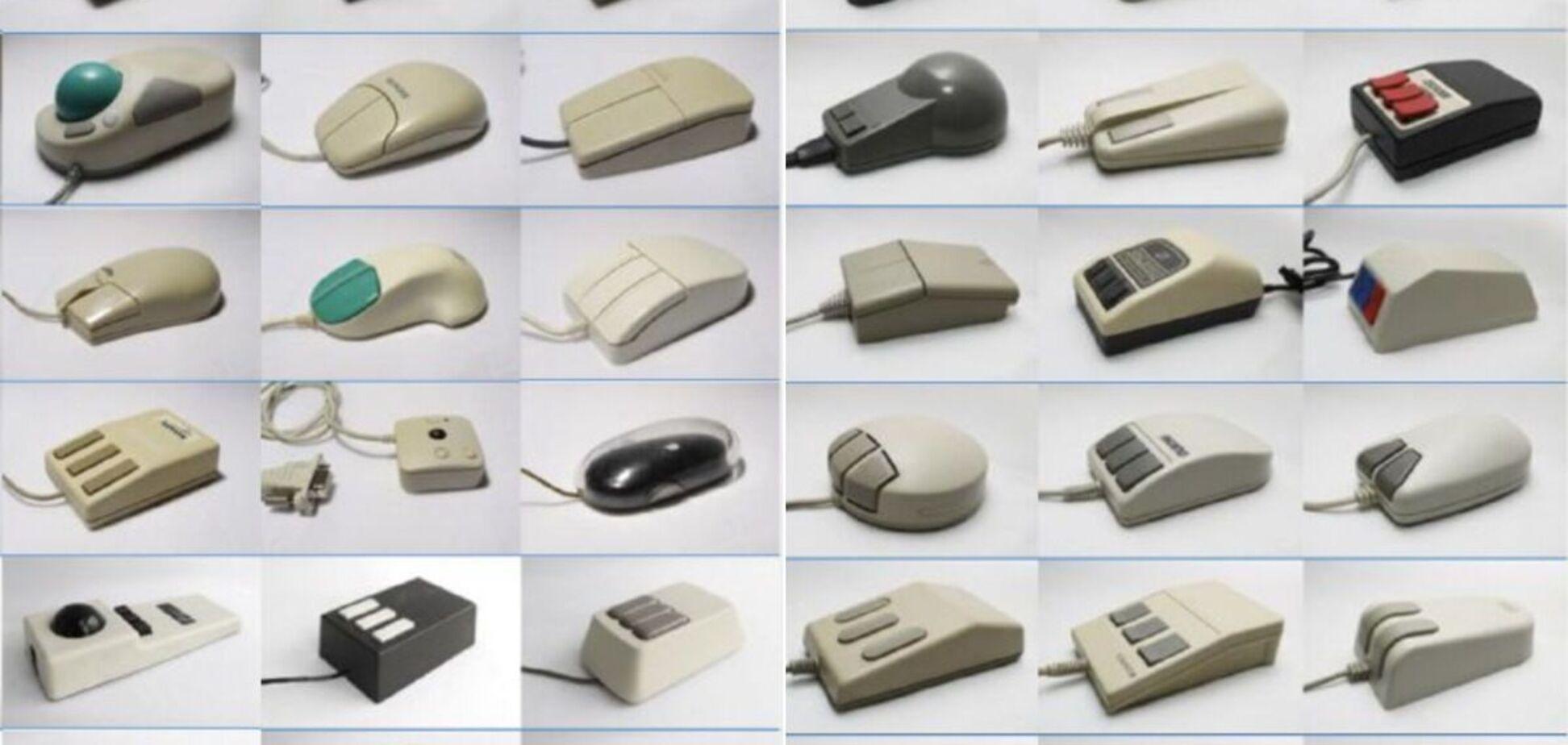 Перші серійні миші були оптичними