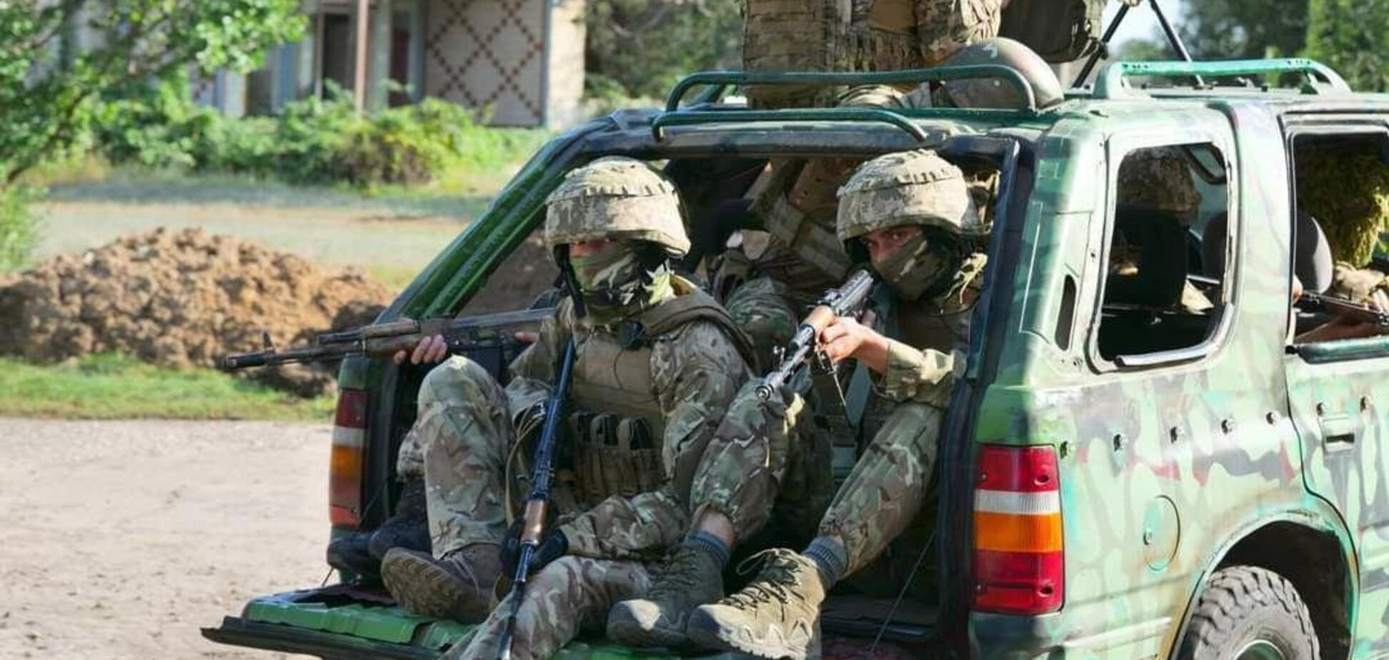 ССО ЗСУ провели навчання поблизу Криму
