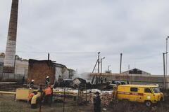 Взрыв газа в селе Березовское