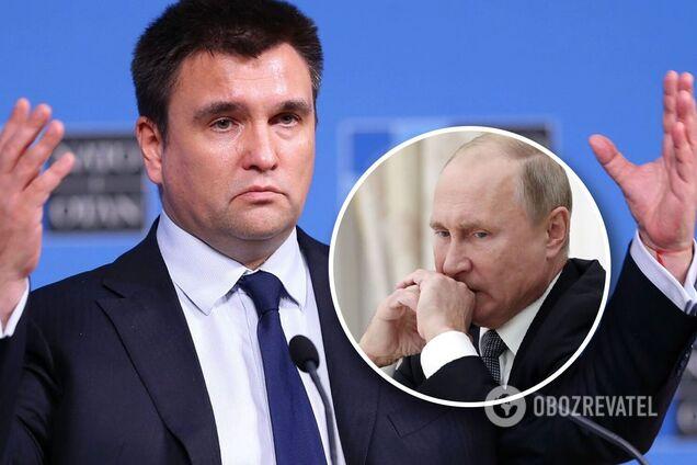 Клімкін: на початку 2021-го нас чекає новий виток подій, Путін підвищить ставки