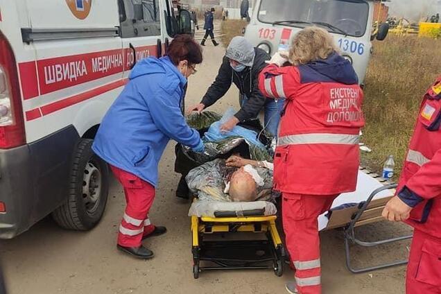 На Харьковщине произошел взрыв газа