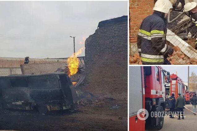 На Харківщині трапився вибух газу