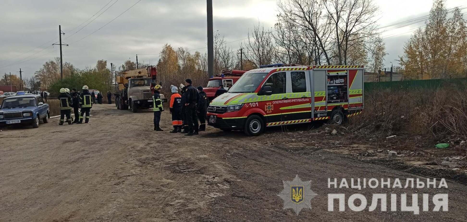 Под Харьковом взорвался газ