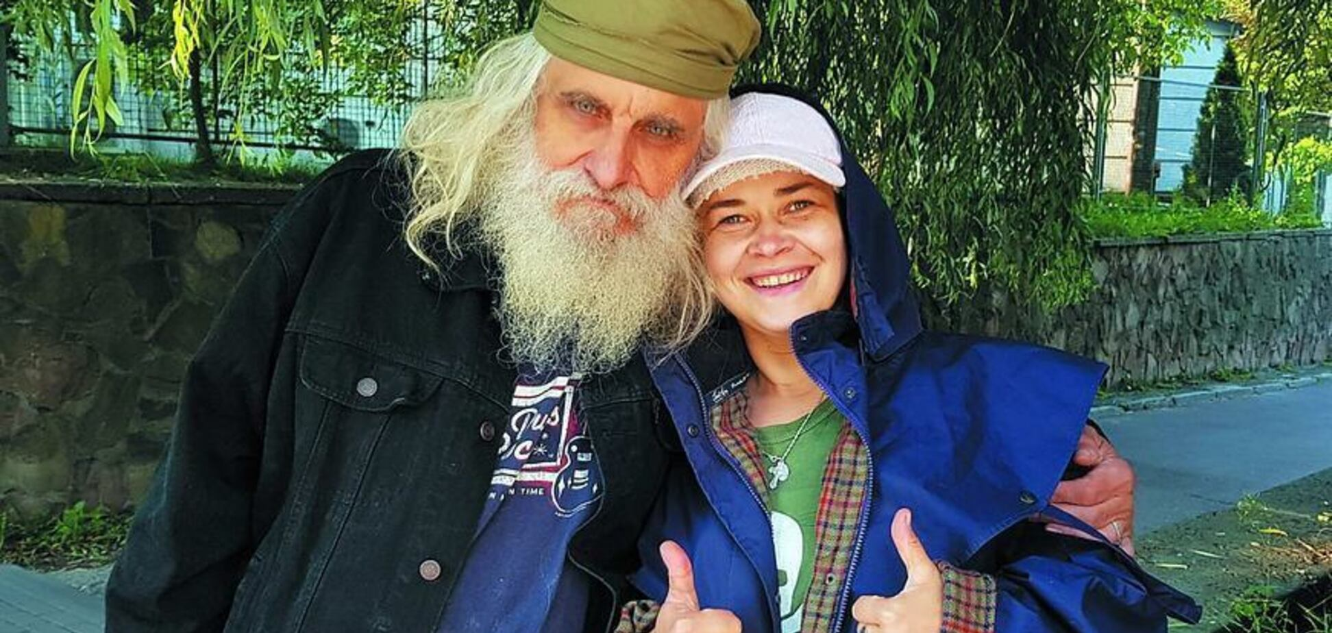 Татьяна Думан с мужем Львом Скопом