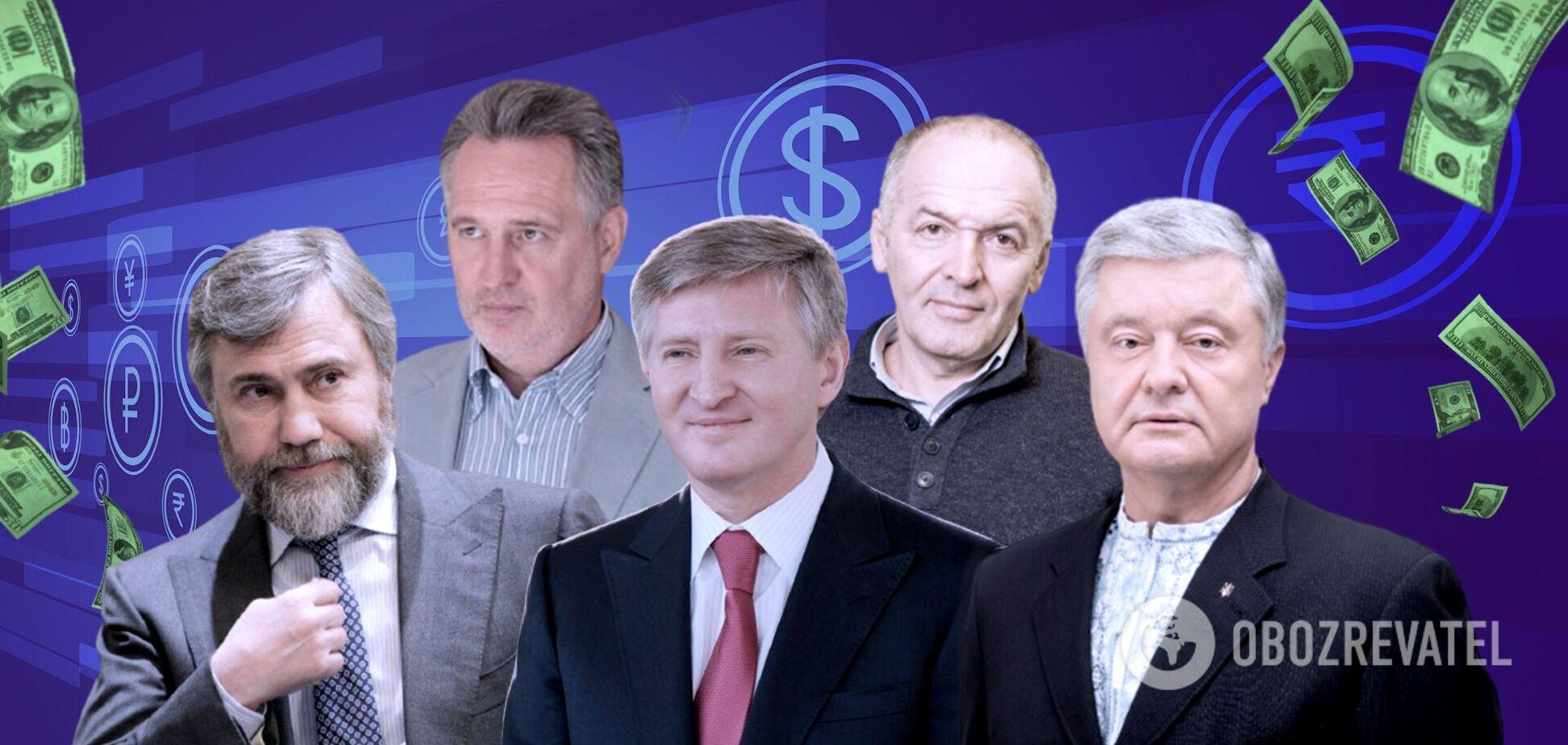 Появился рейтинг самых богатых украинцев: ТОП-30