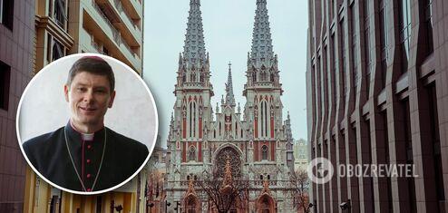 Епископ о костеле Святого Николая в Киеве: мы не хотим никого выгонять, только спасти храм