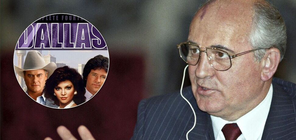 Горбачов звинуватив серіал 'Даллас' у руйнуванні СРСР