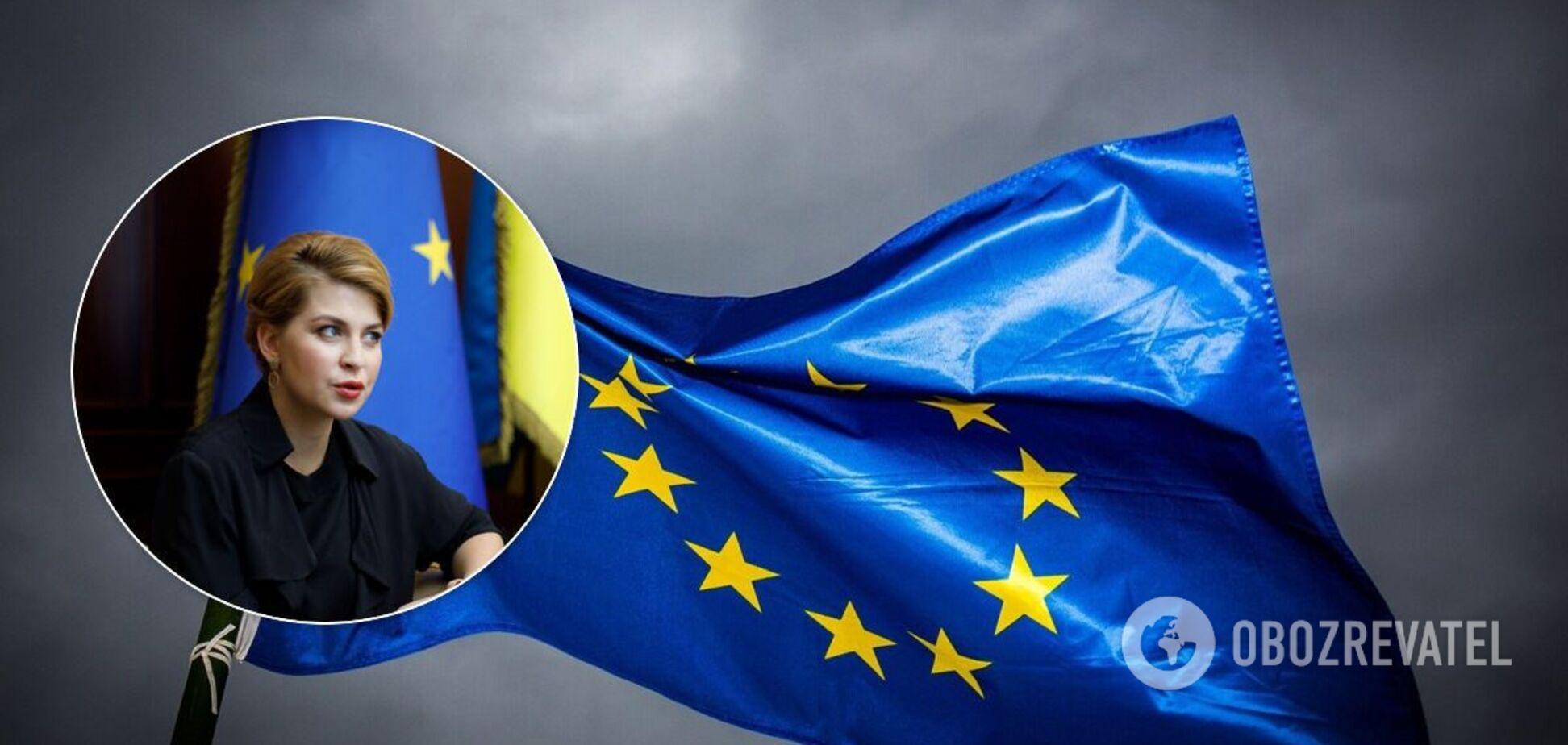 Стефанишина заверила, что безвизу с ЕС быть