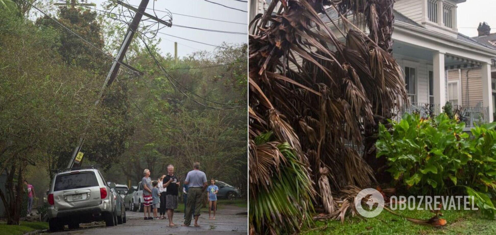 Ураган 'Зета' накрив узбережжя США
