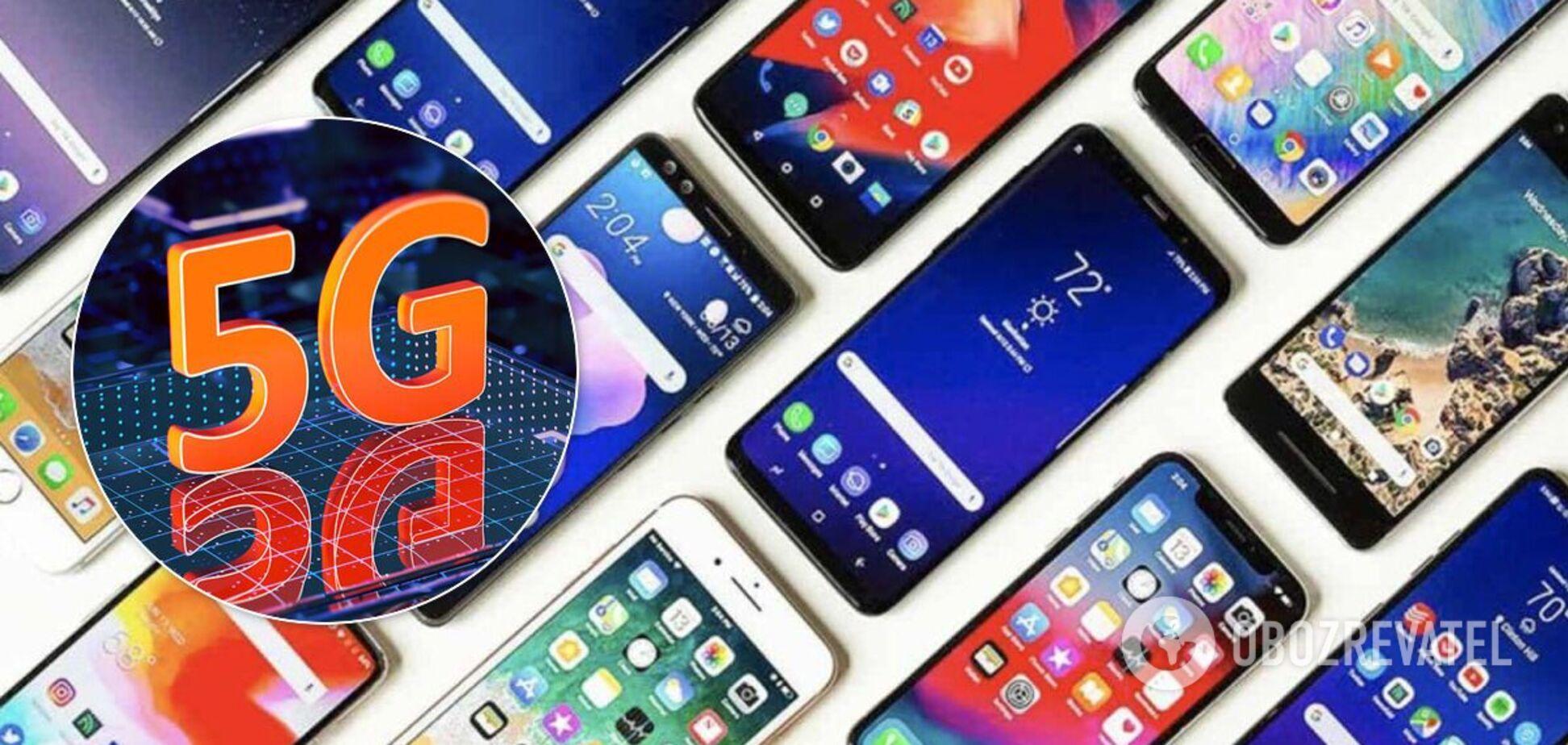 Названо найпопулярніші смартфони з 5G