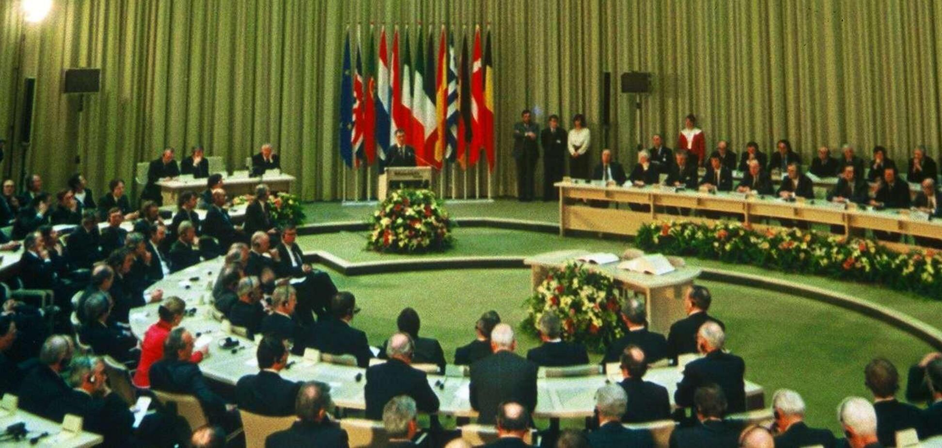 Маастрихтский договор был заключен 7 февраля 1992 года в городе Маастрихт в Нидерландах