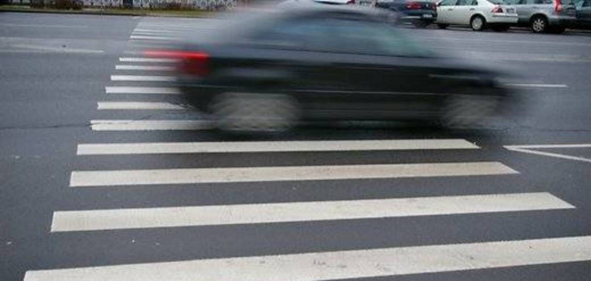 Пьяный водитель сбил детей на переходе