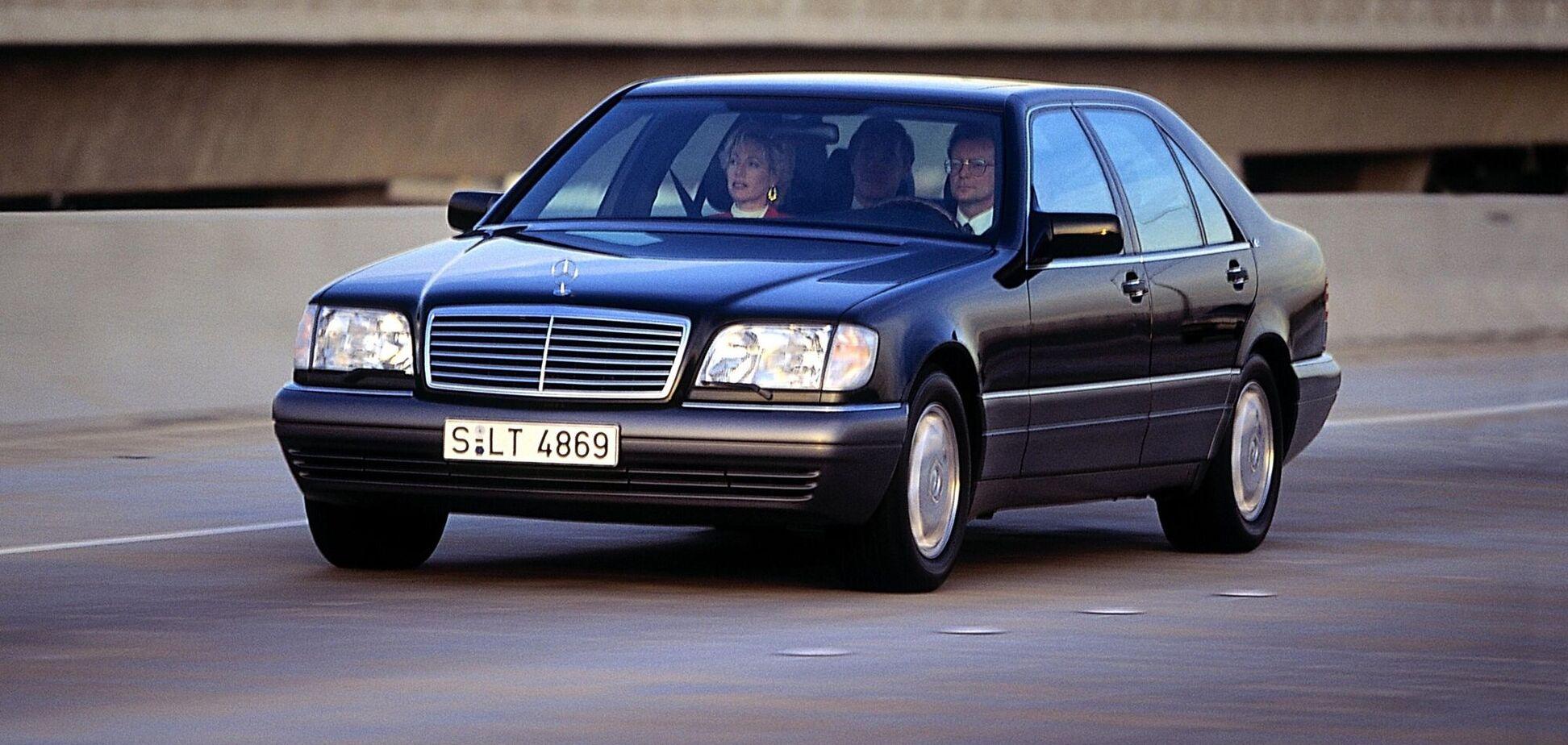 У наступному році різко зросте попит на старі Mercedes W140 'Кабан'