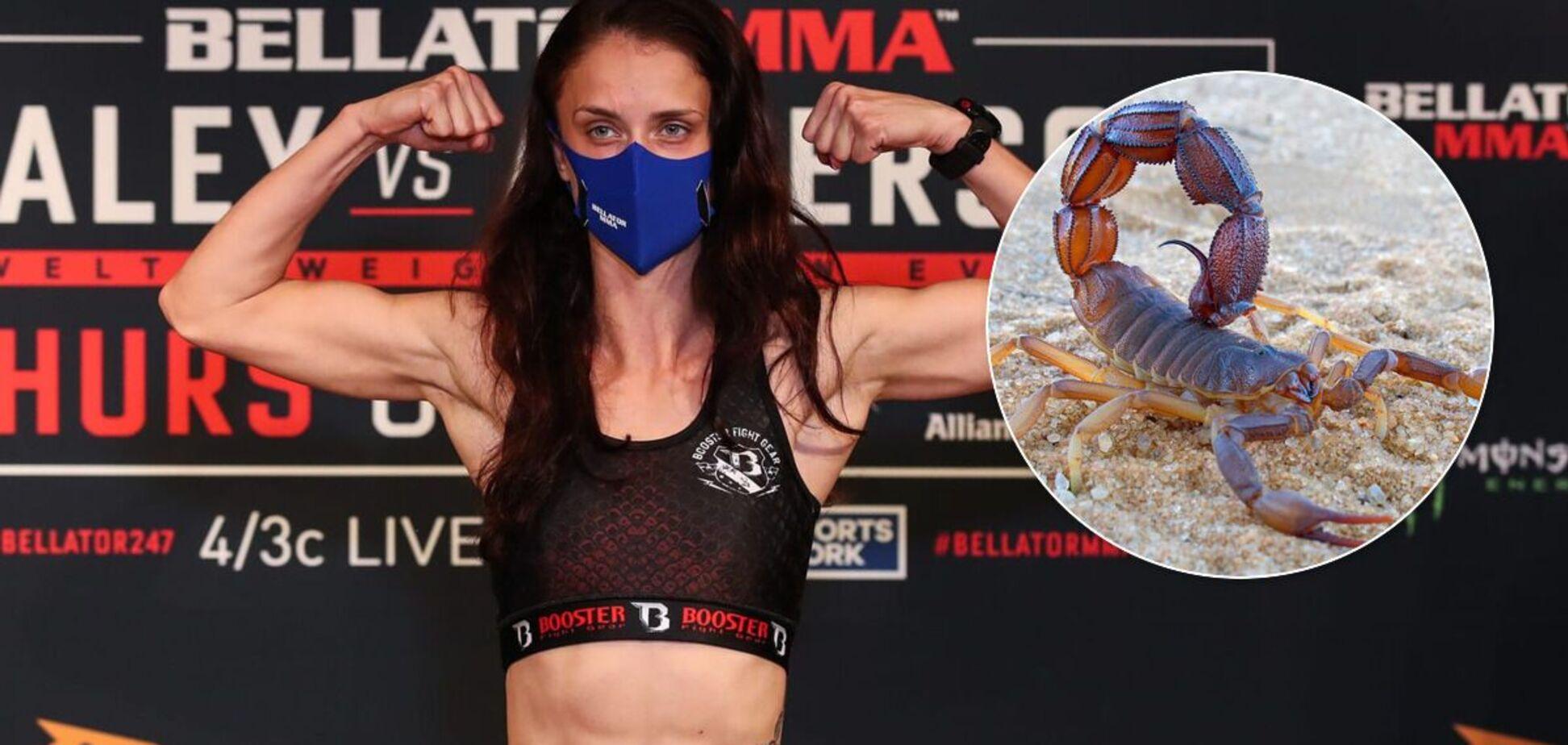 Девушка-боец MMA победила редчайшим 'хрустом скорпиона'. Видео