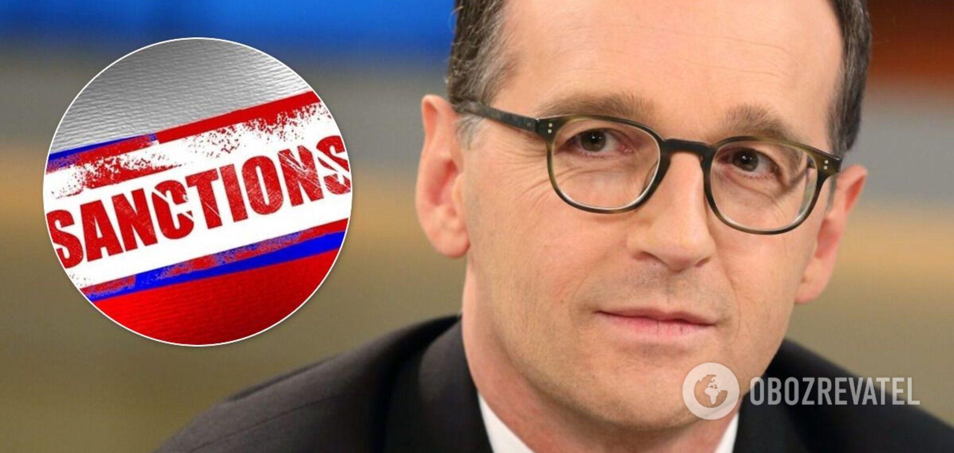 Хайко Маас озвучив умови введення санкцій через Навального