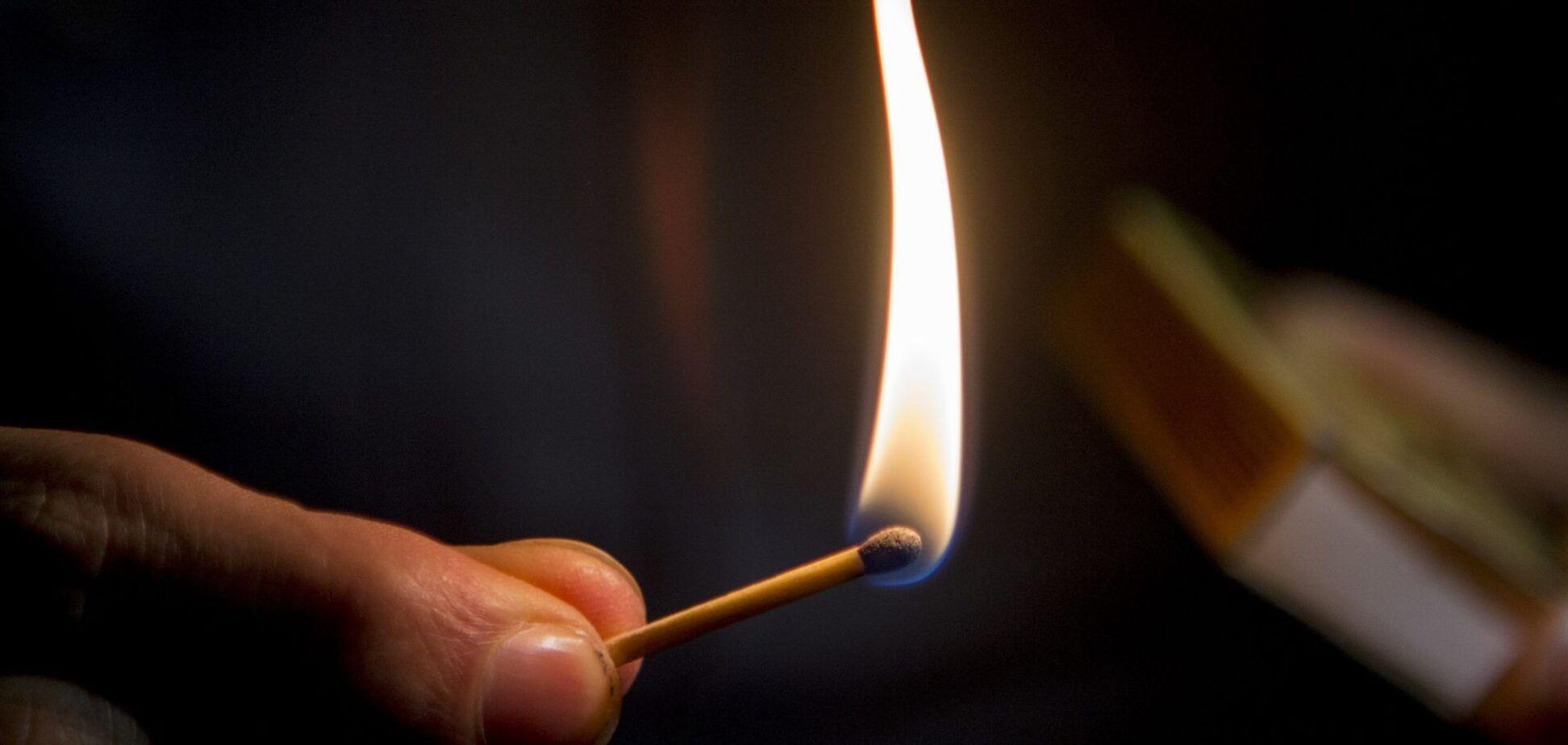 В Днепре мужчина устроил самосожжение – СМИ
