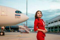 Как выглядит самая красивая стюардесса в мире