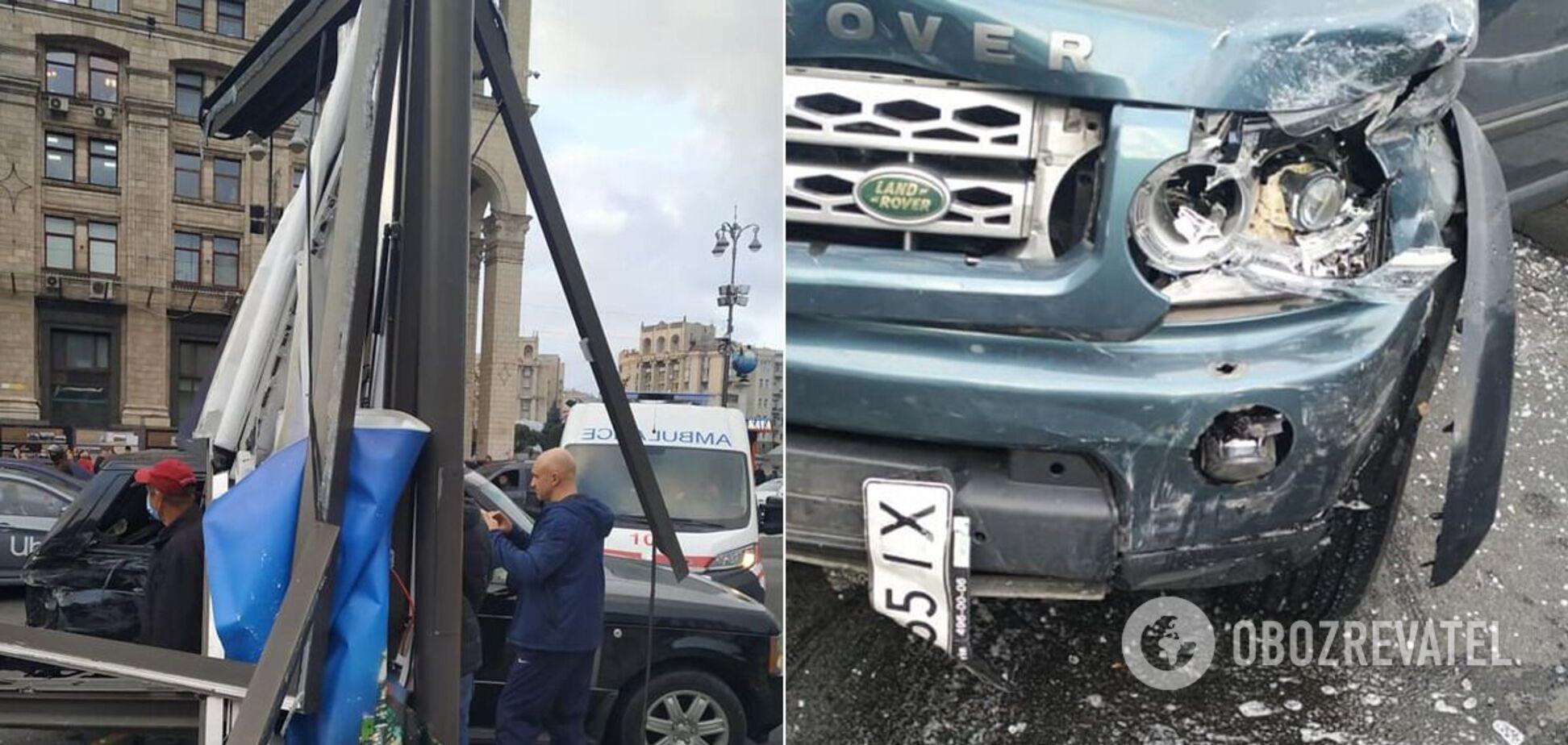 Смертельное ДТП в центре Киева