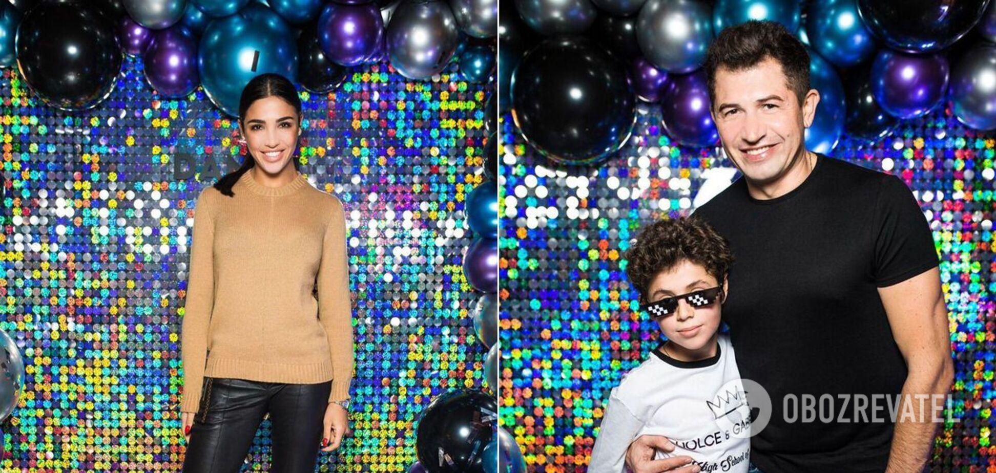 Син Санти Дімопулос відсвяткував день народження