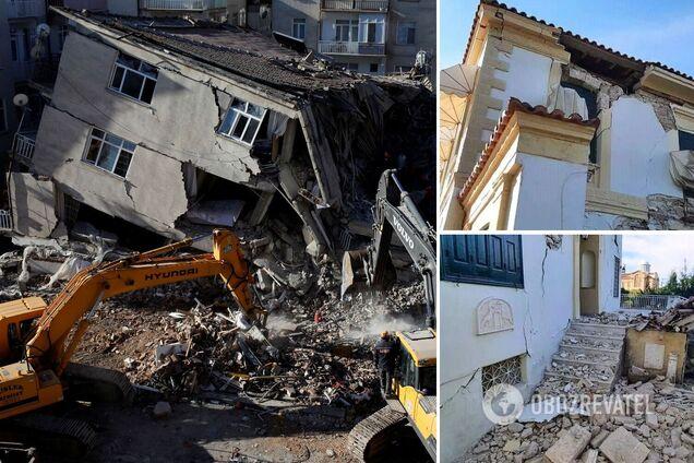 Разрушены как минимум 20 зданий