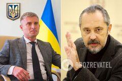 Олександр Новіков та Ігор Сліденко