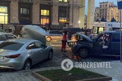 ДТП на Майдані в Києві