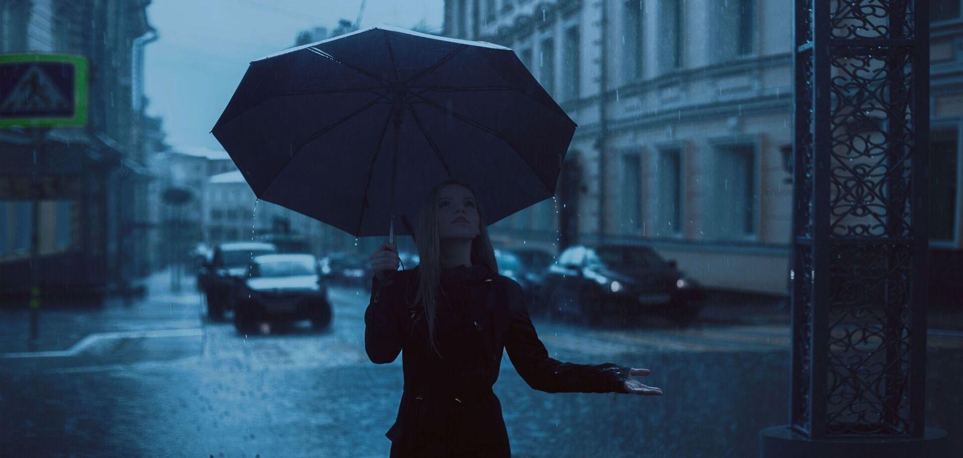 Часть Украины накроют дожди. Иллюстрация