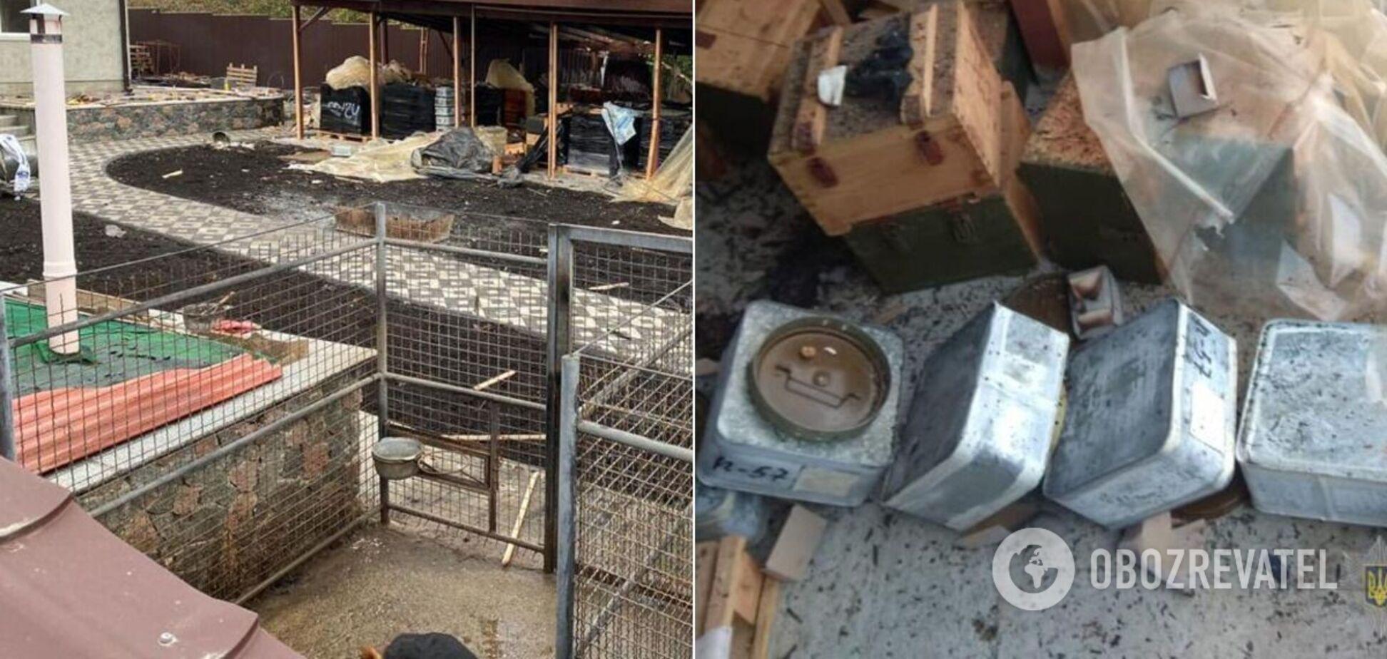 На Киевщине произошел взрыв боеприпасов: есть жертва. Фото