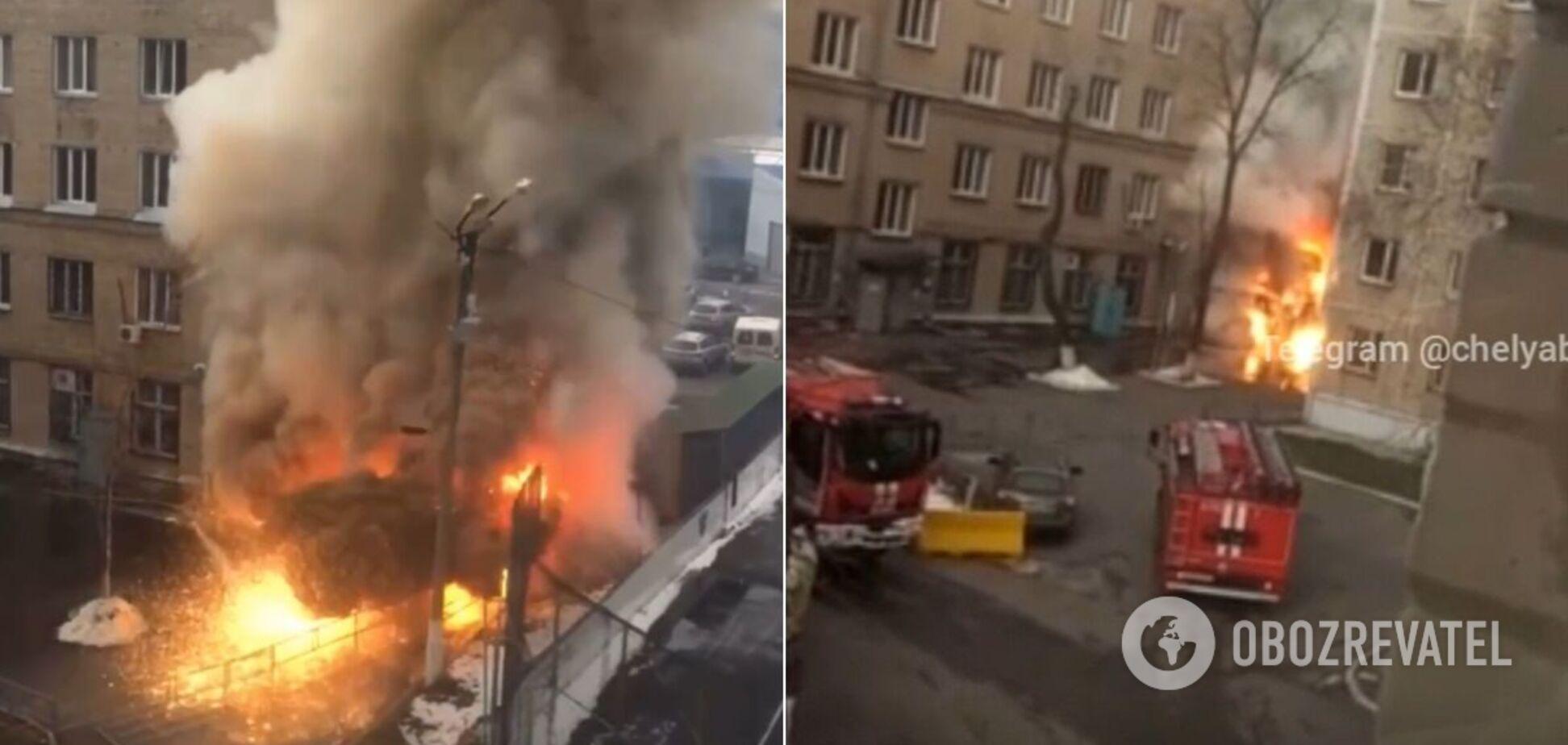 У Росії вибухнула киснева будка в лікарні