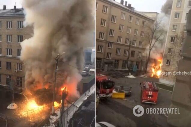 В России взорвалась кислородная будка в больнице