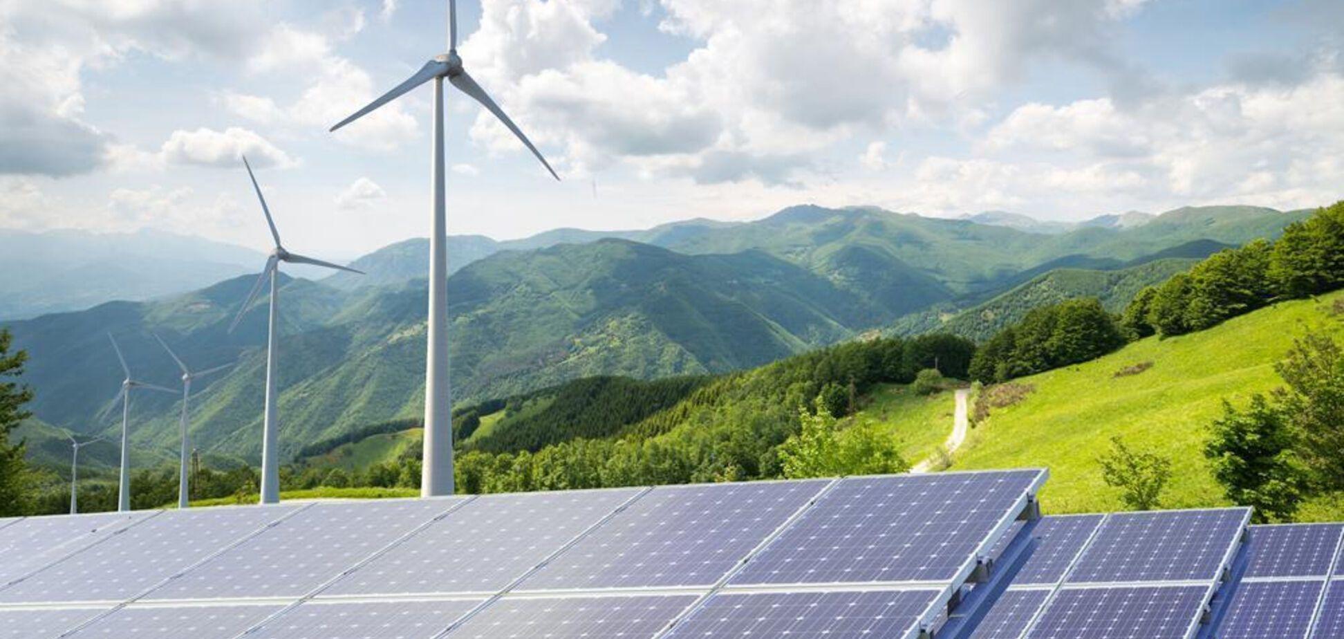 Україні спрогнозували дефіцит інвестицій через кризу в 'зеленій' енергетиці