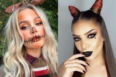 Макияж на Хеллоуин: яркие идеи на вечеринку. Фото