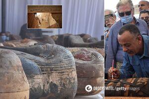 В Египте нашли 59 саркофагов