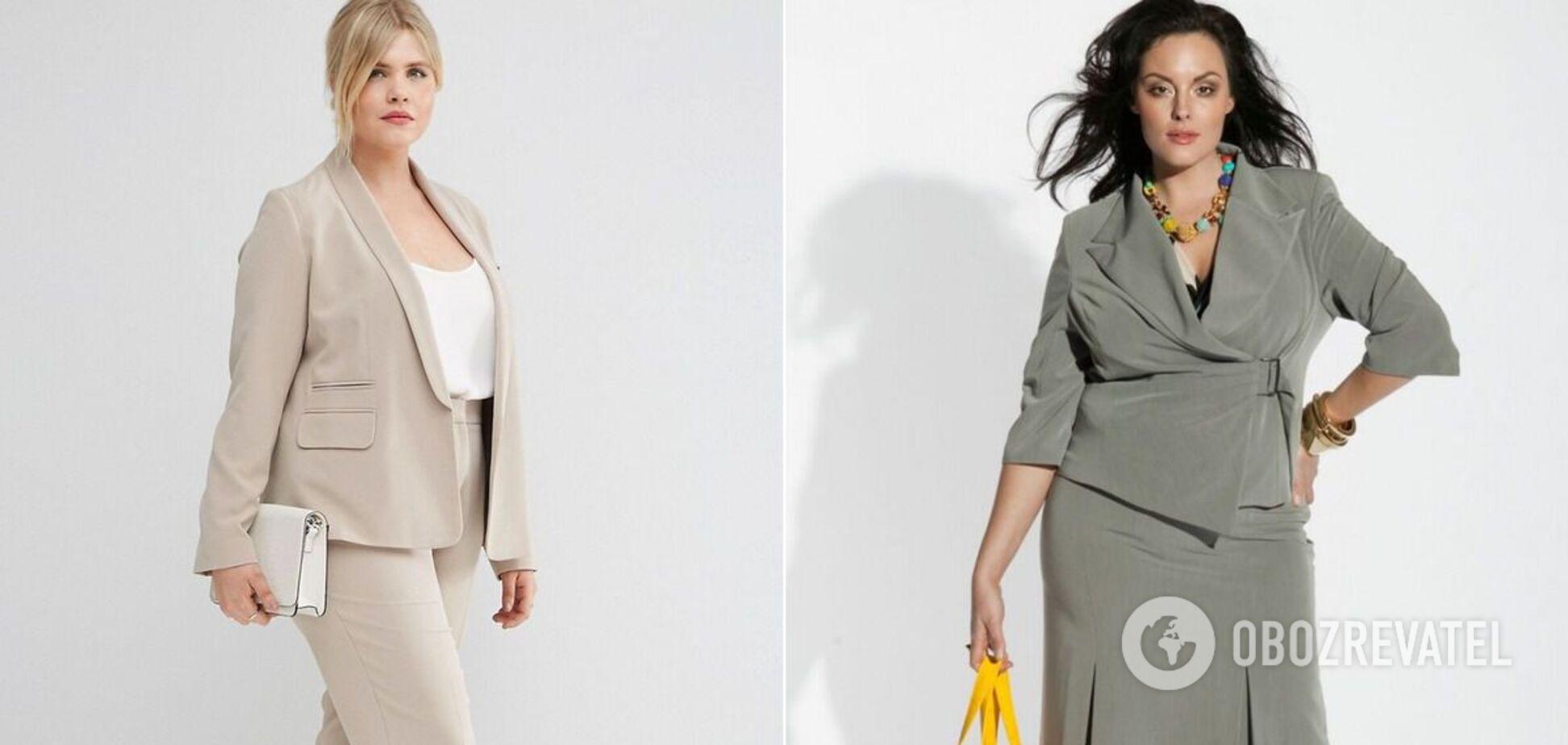 Мода 2020: какие брючные костюмы подойдут полным женщинам