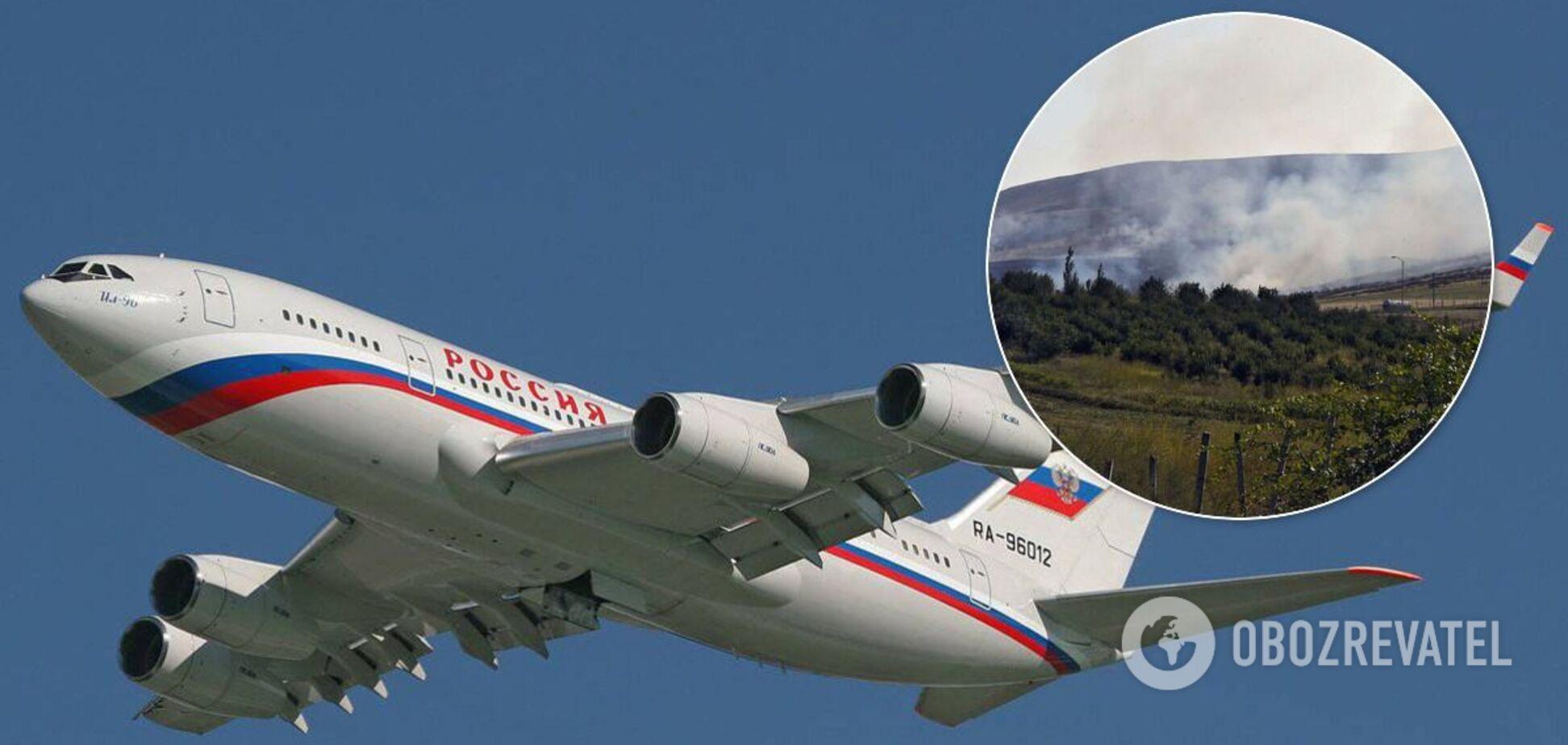 Іл-96-300 РФ приземлився в Єревані