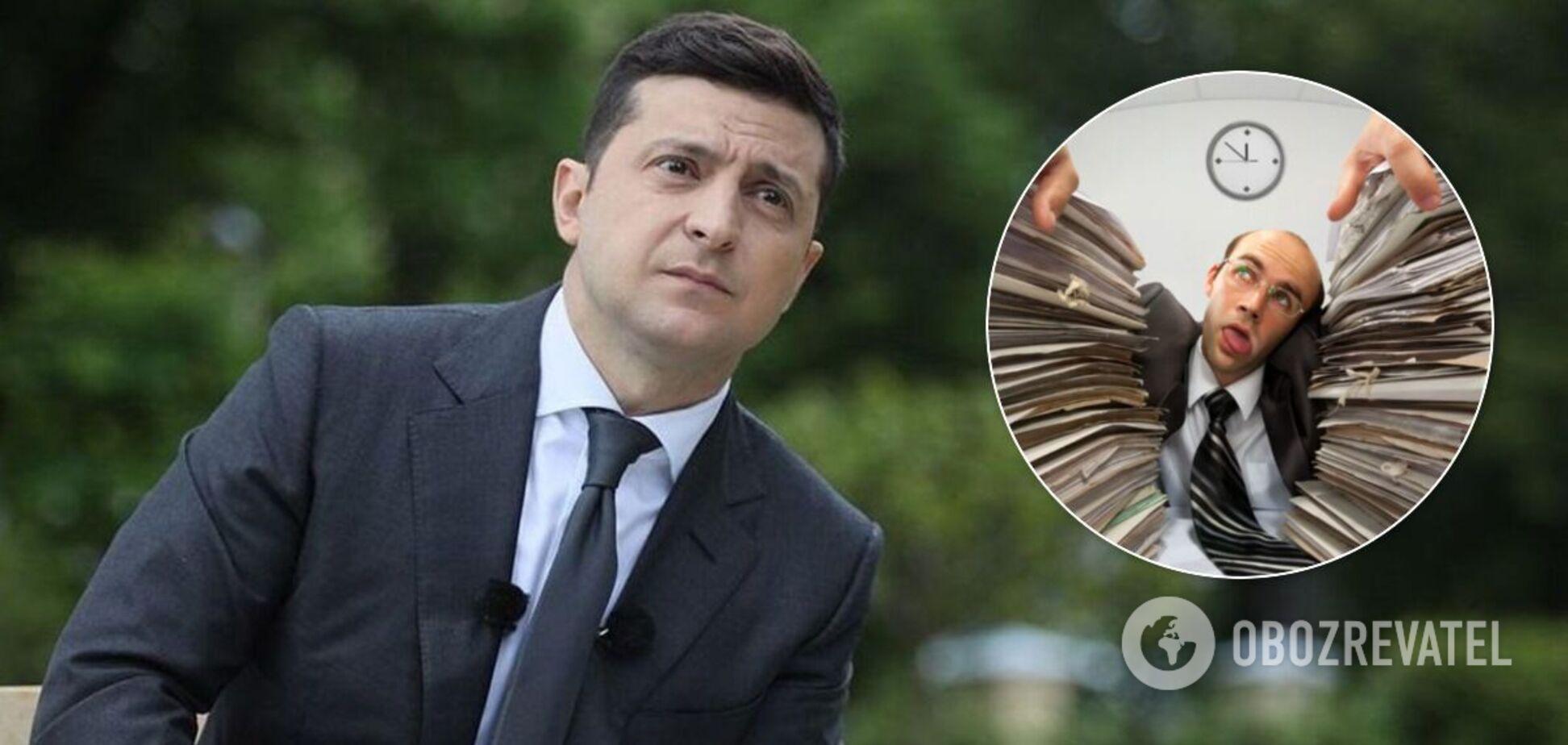 Зеленский выступил на Diia Summit и пообещал убрать бумажную волокиту в 2021 году