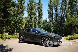 Розкіш в мініатюрі: тестуємо гібридний Lexus UX