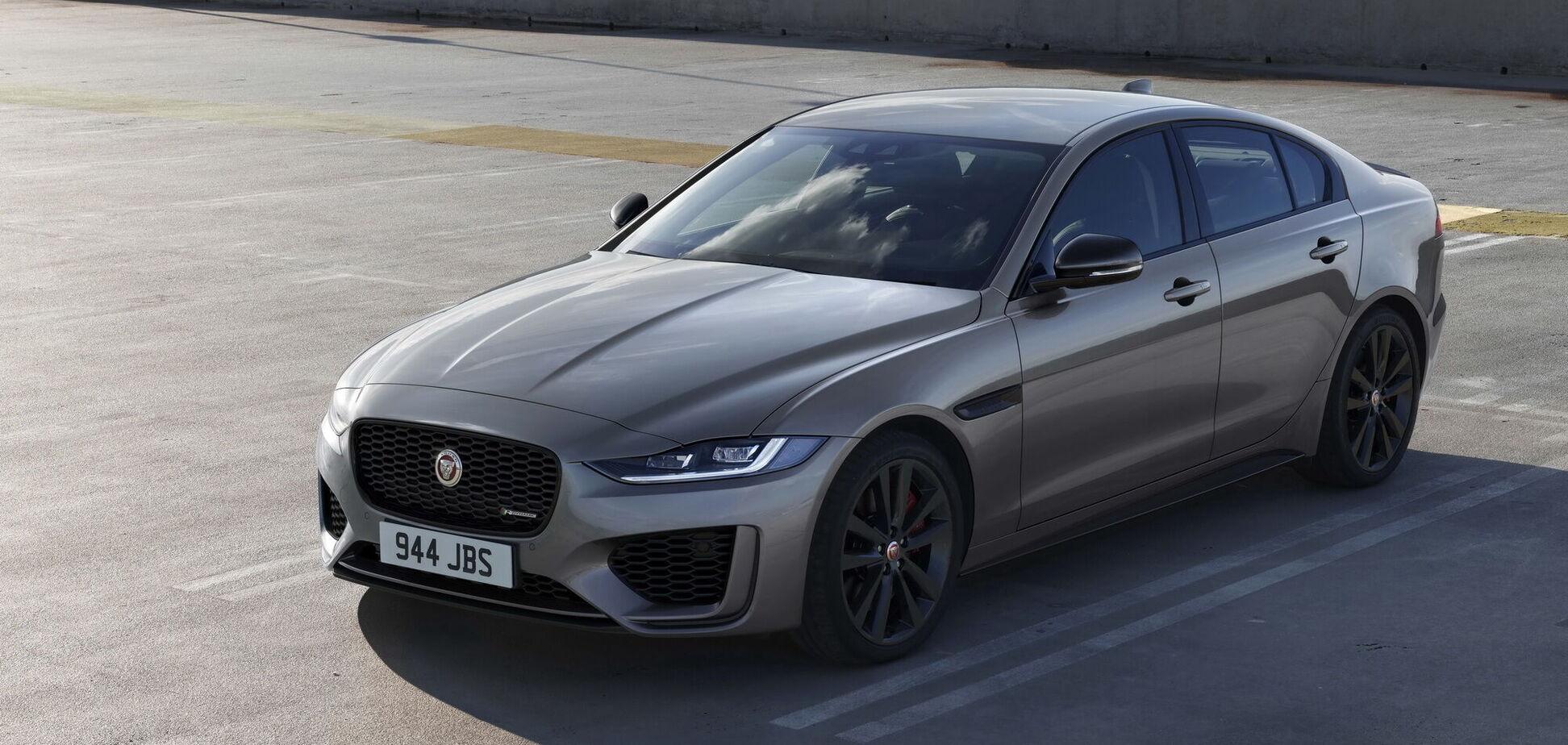 Компанія Jaguar обновила маленький седан ХЕ