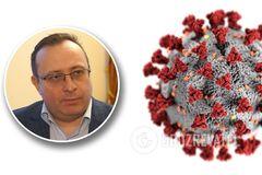 Рубан: пік коронавірусу в Україні буде в січні, нас чекає ще два сезони пандемії