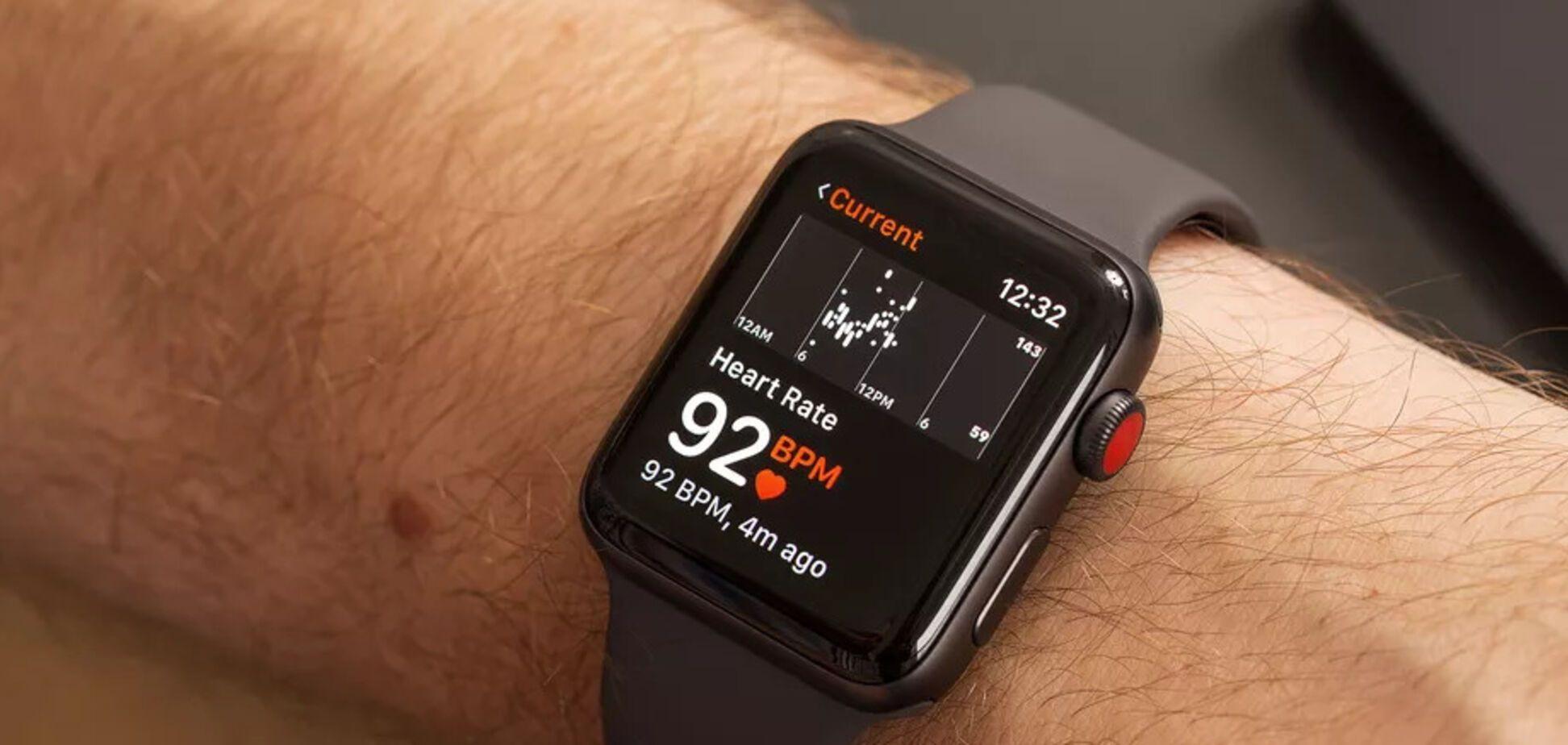 В работе Apple Watch заметили неточность