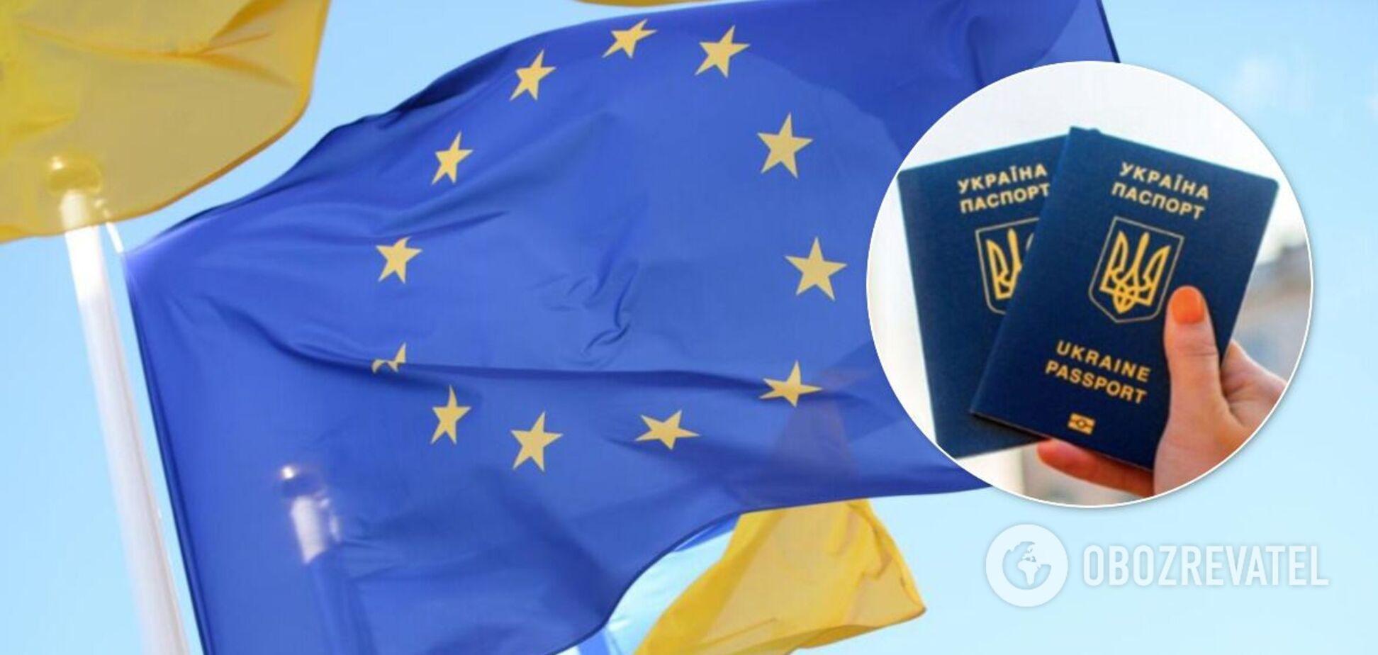 Зеленський розповів, чи є ризик скасування безвізу з ЄС