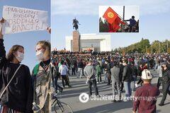 В Кыргызстане оппозиция вышла на протесты