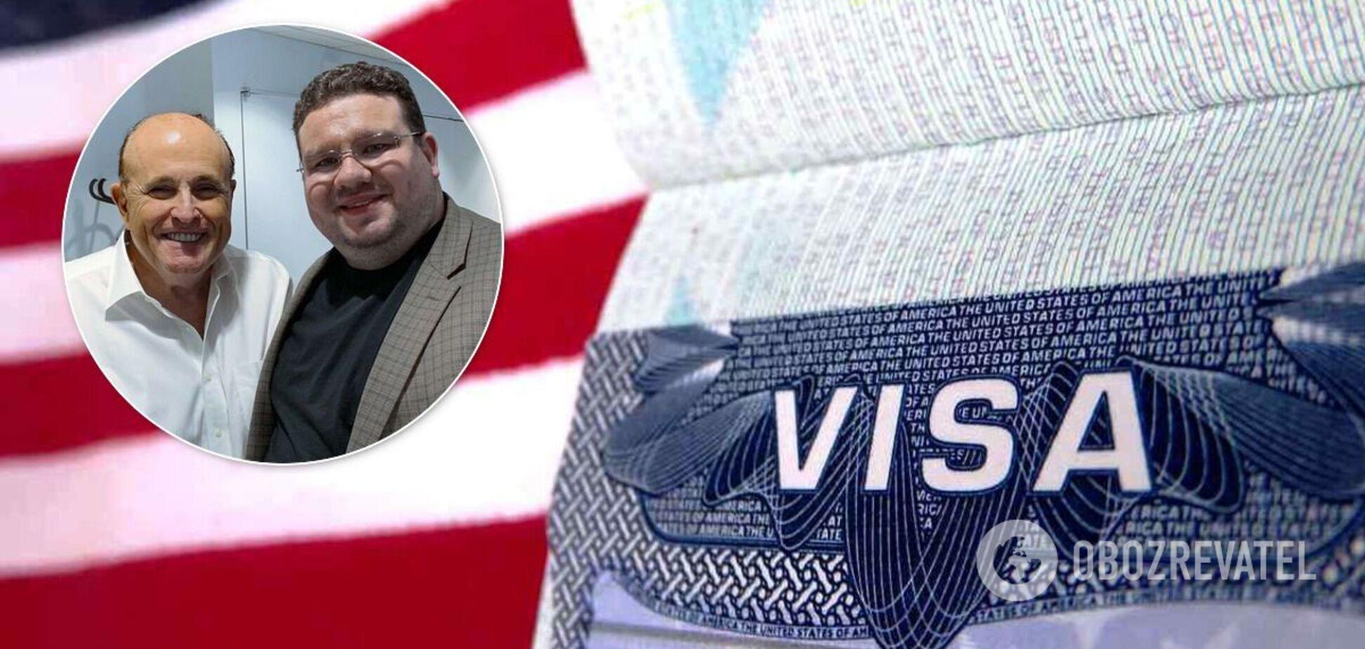 США анулювали візу Андрію Теліженку