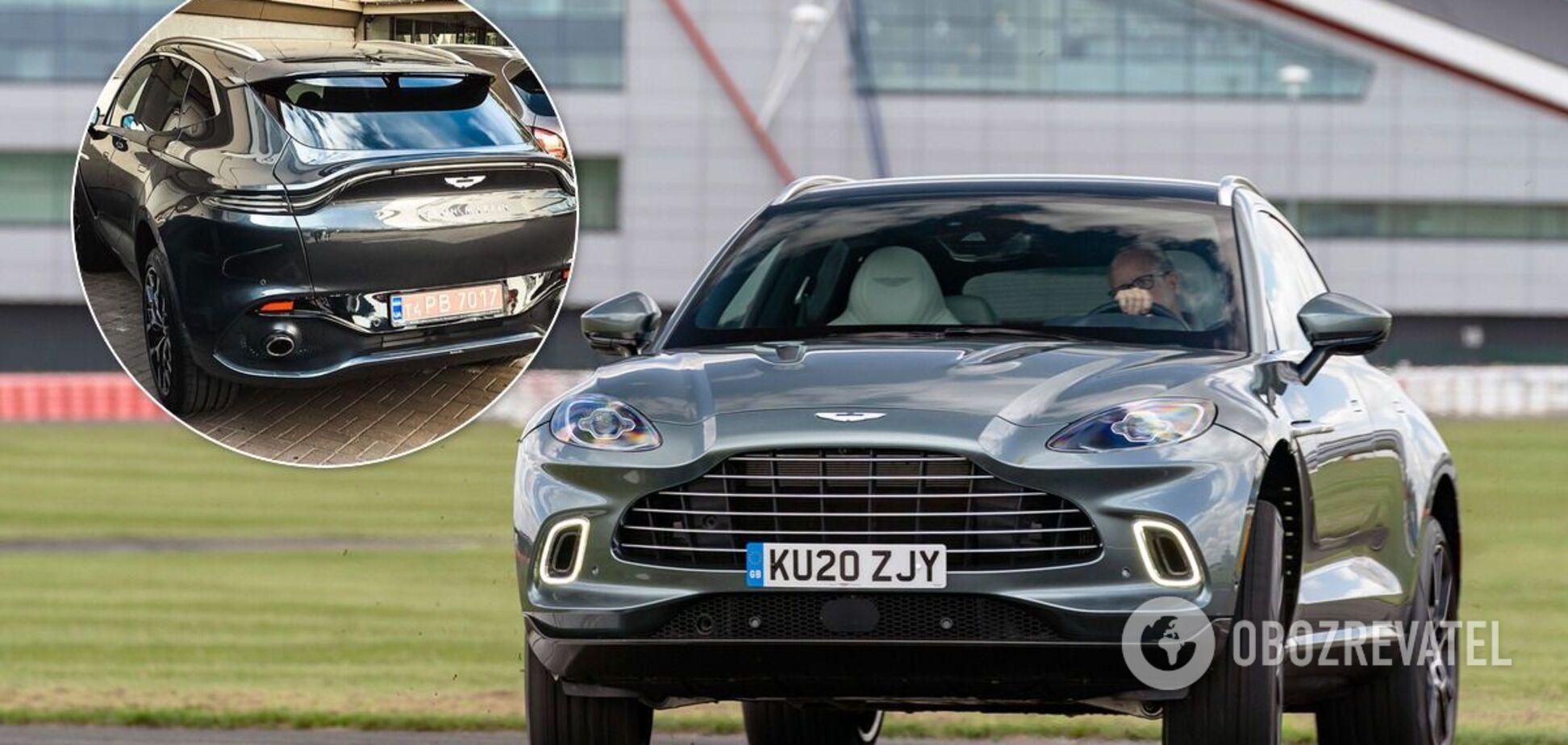 В Україні зняли перший кросовер Aston Martin за 7 млн грн