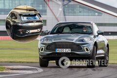 В Украине засняли первый кроссовер Aston Martin за 7 млн грн