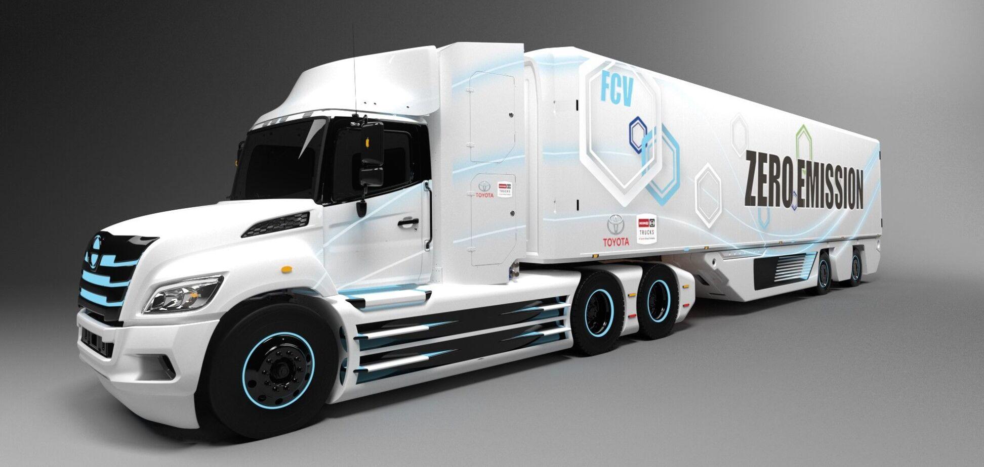 Toyota і Hino почали розробку водневої вантажівки для Північної Америки
